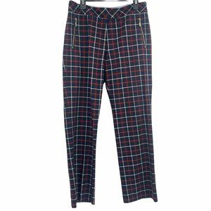 Tommy Hilfiger 90s Plaid High Rise Checkered Pant